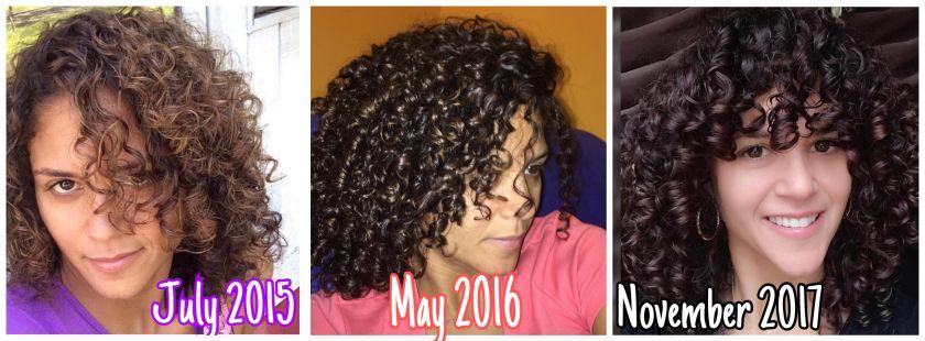 Curly Girl Jess Progress